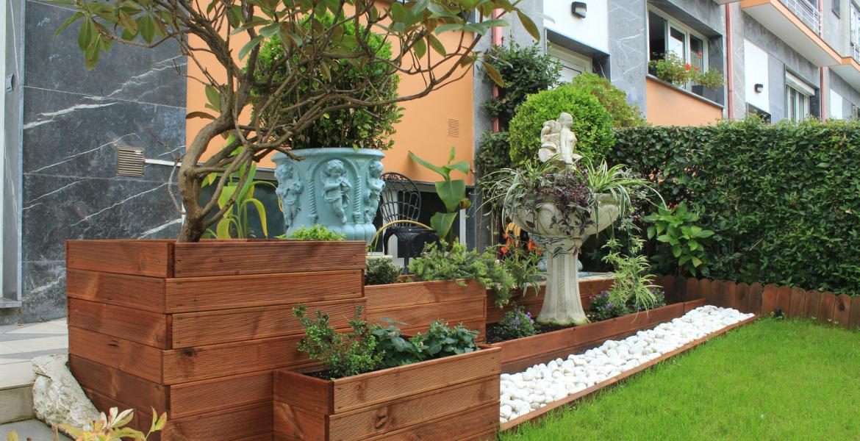 Jardin Y Terraza Minimalistas Syvark I Estudio De Arquitectura - Jardin-minimalista